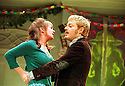 Eddie Izzard  joins the cast of A Day in the Death of Joe Egg  with Victoria Hamilton  opens at the Comedy Theatre on 11/12/01 pic Geraint Lewis
