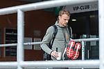 07.07.2020, Trainingsgelaende am wohninvest WESERSTADION,, Bremen, GER, 1.FBL, Werder Bremen - der Tag nach Heidenheim, im Bild<br /> <br /> <br /> <br /> Christian Groß / Gross (Werder Bremen #36) kommt mit seinen Trainingsaufgaben aus dem Stadion<br /> <br /> <br /> Foto © nordphoto / Kokenge