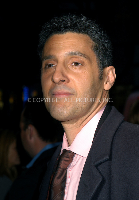 John Turturro at the premiere of 'Secret Window' in New York, March 7, 2004. Please byline: AJ SOKALNER/ACE Pictures.   ..*PAY-PER-USE*      ....IMPORTANT: Please note that our old trade name, NEW YORK PHOTO PRESS (NYPP), is replaced by new name, ACE PICTURES. New York Photo Press and ACE Pictures are owned by All Celebrity Entertainment, Inc.......All Celebrity Entertainment, Inc:  ..contact: Alecsey Boldeskul (646) 267-6913 ..Philip Vaughan (646) 769-0430..e-mail: info@nyphotopress.com