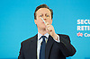 David Cameron speech setting out the Conservative Party&rsquo;s fifth manifesto theme.<br /> at Saga, One Priory Square, Priory Street, Hastings, East Sussex, Great Britain <br /> 22nd February 2015 <br /> <br /> Rt Hon David Cameron MP <br /> Prime Minister and Leader of the Conservatives  <br /> <br /> Photograph by Elliott Franks <br /> Image licensed to Elliott Franks Photography Services