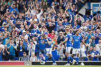Luke Garbutt of Ipswich Town celebrates in front of the home fans during Ipswich Town vs Sunderland AFC, Sky Bet EFL League 1 Football at Portman Road on 10th August 2019