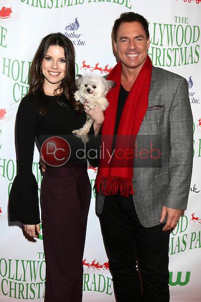 Julie Freyermuth, Norbert, Mark Steines<br /> at the 85th Annual Hollywood Christmas Parade, Hollywood Boulevard, Hollywood, CA 11-27-16<br /> David Edwards/DailyCeleb.com 818-249-4998