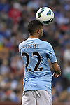23 May 2013:  Gael Clichy (22)(FRA) of Manchester City.  Chelsea F.C. was defeated by Manchester City 3-4 at Busch Stadium in Saint Louis, Missouri, in a friendly exhibition soccer match.