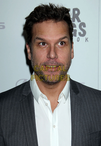 "Dane Cook.""Silver Linings Playbook"" - Los Angeles Special Screening held at the Academy of Motion Picture Arts and Sciences Samuel Goldwyn Theater, Beverly Hills, California, USA..November 19th, 2012.headshot portrait grey gray suit tie white shirt stubble facial hair .CAP/ADM/RE.©Russ Elliot/AdMedia/Capital Pictures."