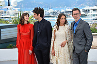 Stacy Martin, Louis Garrel, Michel Hazanavicius &amp; Berenice Bejo at the photocall for &quot;The Formidable&quot; (Le Redoutable) at the 70th Festival de Cannes, Cannes, France. 21 May 2017<br /> Picture: Paul Smith/Featureflash/SilverHub 0208 004 5359 sales@silverhubmedia.com