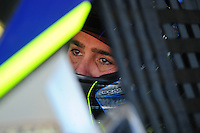 Apr 10, 2008; Avondale, AZ, USA; NASCAR Sprint Cup Series driver Jimmie Johnson during practice for the Subway Fresh Fit 500 at Phoenix International Raceway. Mandatory Credit: Mark J. Rebilas-