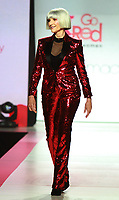 NEW YORK, NY February 08, 2018:Maye Musk attend  American Heart Association's® Go Red For Women® Red Dress Collection® 2018 at Hammerstein Ballroom in New York. February 08, 2018. Credit:RW/MediaPunch