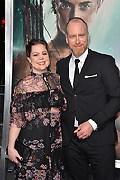Roar Uthaug &amp; Ingrid Uthaug at the US premiere for &quot;Tomb Raider&quot; at the TCL Chinese Theatre, Los Angeles, USA 12 March 2018<br /> Picture: Paul Smith/Featureflash/SilverHub 0208 004 5359 sales@silverhubmedia.com