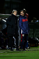 Bristol manager Tanya Oxtoby during Arsenal Women vs Bristol City Women, FA Women's Super League Football at Meadow Park on 14th March 2019