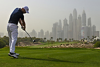 Martin Kaymer (GER) on the 8th tee during Round 1 of the Omega Dubai Desert Classic, Emirates Golf Club, Dubai,  United Arab Emirates. 24/01/2019<br /> Picture: Golffile | Thos Caffrey<br /> <br /> <br /> All photo usage must carry mandatory copyright credit (&copy; Golffile | Thos Caffrey)