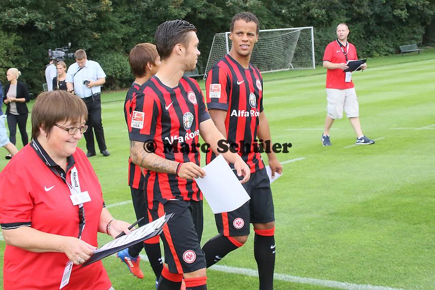 Vaclav Kadlec und Timothy Chandler (Eintracht Frankfurt)