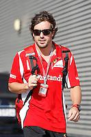 23.06.2012. Valencia, Spain. FIA Formula One World Championship 2012 Grand Prix of Europe. The picture show Fernando Alonso (Spanish driver of Ferrari)