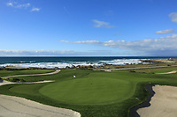 A general view of the 12th green, Shore Course, Monterey Peninsula Country Club during previews ahead of the AT&amp;T Pro-Am, Pebble Beach Golf Links, Monterey, California, USA. 06/02/2019<br /> Picture: Golffile | Phil Inglis<br /> <br /> <br /> All photo usage must carry mandatory copyright credit (&copy; Golffile | Phil Inglis)