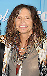 "LOS ANGELES, CA - MAY 23: Steven Tyler of Aerosmith poses in the press room during ""American Idol Season 11 Grand Finale"" Show at Nokia Theatre L.A. Live on May 23, 2012 in Los Angeles, California."