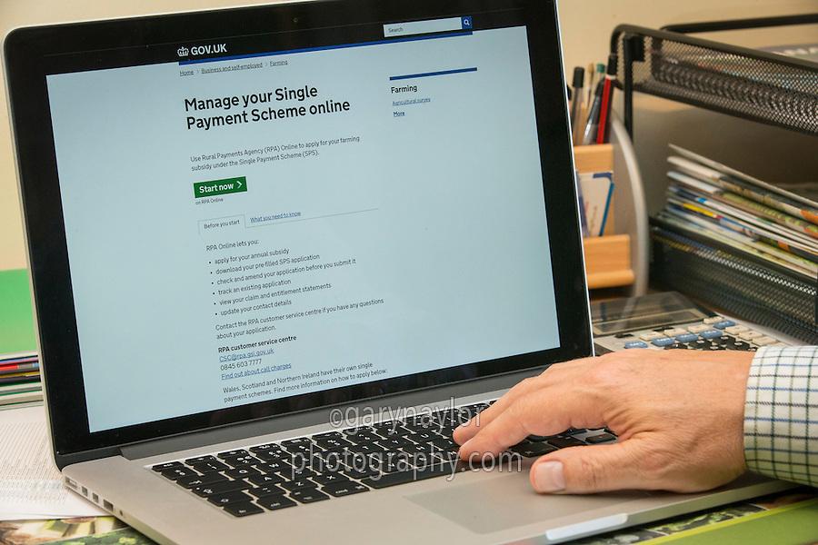 Manage your Single Farm Payment Online