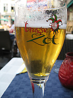 One of the hundreds of beers in Brugge, Belgium