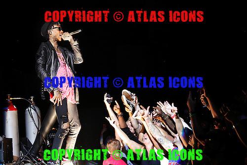 Wiz Khalifa, live, 2013 ,Ken Settle/atlasicons.com