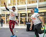 The Extra Mile 2018 - New York event on 22 April 2018, in the Oculus, New York, USA. Photo by Enrique Shore / Power Sport Images on 22 April 2018, in New York, USA. Photo by Enrique Shore / Power Sport Images