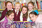 Girl's books: At the shared reading afternoon at Ballybunion library on Thursday, December 20th were Isla O'Connor, Sarah Long, Aiblish Lynch, Louise Hanrahan, Sarah Mulvihill and Rachel Enright.   Copyright Kerry's Eye 2008