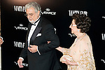 Placido Domingo and his wife Marta Ornelas attends the photocall organized by Vanity Fair to reward Placido Domingo as &quot;Person of the Year 2015&quot; at the Ritz Hotel in Madrid, November 16, 2015.<br /> (ALTERPHOTOS/BorjaB.Hojas)