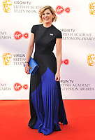 Jodie Whittaker at the Virgin TV British Academy (BAFTA) Television Awards 2018, Royal Festival Hall, Belvedere Road, London, England, UK, on Sunday 13 May 2018.<br /> CAP/CAN<br /> &copy;CAN/Capital Pictures
