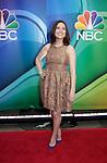Megan Boone - The Blacklist- NBC Upfront at Radio City, New York City, New York on May 11, 2015 (Photos by Sue Coflin/Max Photos)