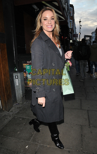 Tamzin Outhwaite attends the TBSeen.com new celebrity-curated lifestyle shopping platform press launch, Soho House, Old Compton Street, Soho, London, UK, on Monday 04 January 2016.<br /> CAP/CAN<br /> &copy;CAN/Capital Pictures