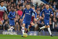 Christian Pulisic Of Chelsea FC during Chelsea vs West Ham United, Premier League Football at Stamford Bridge on 30th November 2019