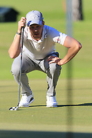 Danny Willett (ENG) on the 17th green during Friday's Round 2 of the 2018 Turkish Airlines Open hosted by Regnum Carya Golf &amp; Spa Resort, Antalya, Turkey. 2nd November 2018.<br /> Picture: Eoin Clarke | Golffile<br /> <br /> <br /> All photos usage must carry mandatory copyright credit (&copy; Golffile | Eoin Clarke)