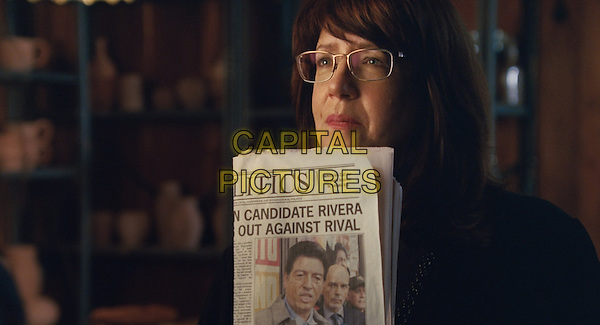 ANN DOWD as Nell in Warner Bros. Pictures and Participant Media's satirical comedy &quot;OUR BRAND IS CRISIS,&quot; a Warner Bros. Pictures release.<br /> *Filmstill - Editorial Use Only*<br /> CAP/KFS<br /> Image supplied by Capital Pictures