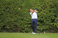 Eamonn Haugh (Castletroy) on the 16th tee during the AIG Barton Shield Munster Final 2018 at Thurles Golf Club, Thurles, Co. Tipperary on Sunday 19th August 2018.<br /> Picture:  Thos Caffrey / www.golffile.ie<br /> <br /> All photo usage must carry mandatory copyright credit (© Golffile   Thos Caffrey)
