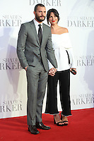 "Jamie Dornan and Amelia Warner<br /> at the ""Fifty Shades Darker"" premiere, Odeon Leicester Square, London.<br /> <br /> <br /> ©Ash Knotek  D3223  09/02/2017"