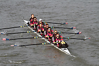 Crew: 6 CUS Milano<br /> <br /> Women's Head of the River (WeHoRR) 2017<br /> <br /> To purchase this photo, or to see pricing information for Prints and Downloads, click the blue 'Add to Cart' button at the top-right of the page.