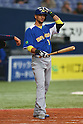 Paulo Orlando (BRA), .February 26, 2013 - WBC : .2013 World Baseball Classic, Exhibithion Game .match between Brazil 2-6 ORIX Buffaloes .at Kyocera Dome, Osaka, Japan..(Photo by AJPS/AFLO SPORT)