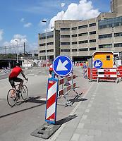 Het centrum van Utrecht wordt grondig verbouwd. Herinrichting van het gebied rond Centraal Station