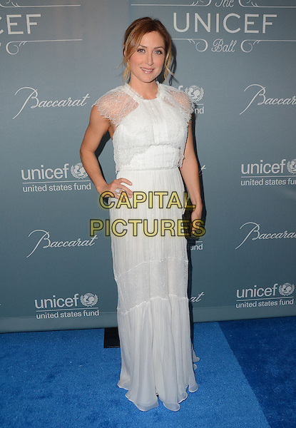 LOS ANGELES, CA - JANUARY 14: - Beverly Hills, California - Sasha Alexander. Arrivals for the 2014 UNICEF Ball honoring Michael Douglas at the Beverly Wilshire Hotel in Beverly Hills, Ca. Photo <br /> CAP/ADM/BT<br /> &copy;Birdie Thompson/AdMedia/Capital Pictures