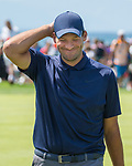 Tony Romo during the American Century Championship at Edgewood Tahoe Golf Course in Stateline, Nevada, Sunday, July 15, 2018.