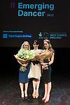 English National Ballet. Emerging Dancer competition 2013. Queen Elizabeth Hall. Nancy Osbaldeston, Tamara Rojo, Laurretta Summerscales.