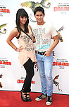 UNIVERSAL CITY, CA. - March 21: Booboo Stewart (R) and sister Fivel Stewart arrive at the premiere of ''How To Train Your Dragon'' at Gibson Amphitheater on March 21, 2010 in Universal City, California.