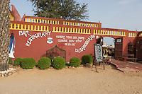 Vietnamese Diaspora--a Vietnamese Restaurant in Senegal, Saint Louis.
