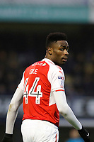 Devante Cole of Fleetwood Town seen during the Sky Bet League 1 match between Southend United and Fleetwood Town at Roots Hall, Southend, England on 13 January 2018. Photo by Carlton Myrie.