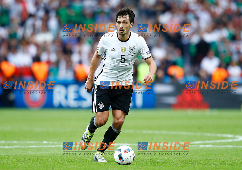 Mats Hummels Germany<br /> Paris 21-06-2016 Parc des Princes Football Euro2016 Northern Ireland - Germany  / Irlanda del Nord - Germania Group Stage Group C. Foto Matteo Ciambelli / Insidefoto