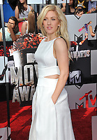 Ellie Goulding at the 2014 MTV Movie Awards at the Nokia Theatre LA Live.<br /> April 13, 2014  Los Angeles, CA<br /> Picture: Paul Smith / Featureflash