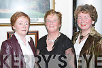 GLAMOUR: Glamour at The Golf Club, Ballybunion, for the Little Christmas dinner on Saturday, l-r, Maureen Stack (Glin), Marianne Flannery (Abbeyfeale) and Roswita Bock (Listowel)..