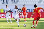 Edgar Bernhardt of Kyrgyz Republic (L) in action during the AFC Asian Cup UAE 2019 Group C match between China (CHN) and Kyrgyz Republic (KGZ) at Khalifa Bin Zayed Stadium on 07 January 2019 in Al Ain, United Arab Emirates. Photo by Marcio Rodrigo Machado / Power Sport Images
