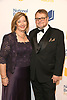 Luis Alberto Urrea and wife Cindy Urrea attend the 69th National Book Awards Ceremony and Benefit Dinner presented by the National Book Foundaton on November 14, 2018 at Cipriani Wall Street in New York, New York, USA.<br /> <br /> photo by Robin Platzer/Twin Images<br />  <br /> phone number 212-935-0770