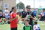 McDonalds Community Football festival at Rogerstone School.<br /> 25.06.16<br /> &copy;Steve Pope Sportingwales