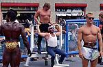 Muscle Beachin Venice circa 1990s