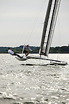 Training before the International C Class Catamaran Championships.