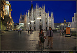 Italy, Milan.  Low Light Photography.<br />